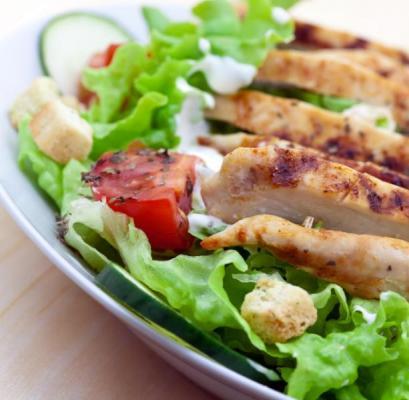 Σαλάτα με χοιρινό