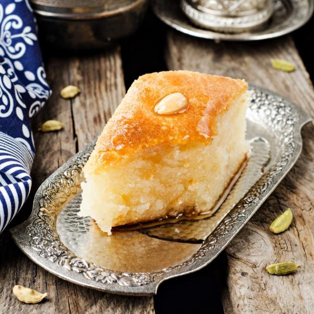 Νηστίσιμα γλυκά: Σάμαλι