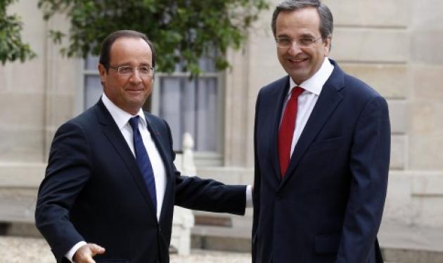 Ολάντ: Για μένα η Ελλάδα είναι και θα παραμείνει μέρος της Ευρωζώνης – Σαμαράς: Η Ελλάδα θα τα καταφέρει   tlife.gr