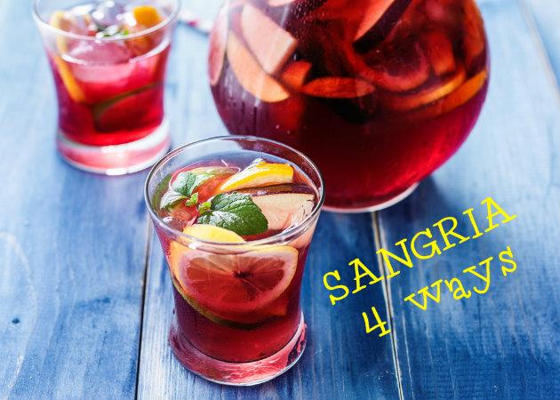 Σανγκρία: 4 δροσιστικοί τρόποι να τη φτιάξεις με τα χεράκια σου! | tlife.gr