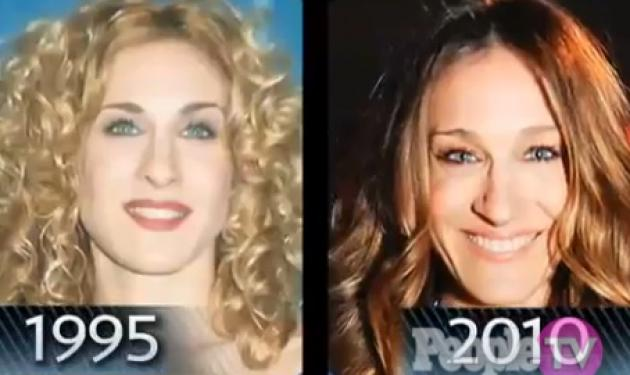 Τα πολλά πρόσωπα της  Sarah Jessica Parker! | tlife.gr