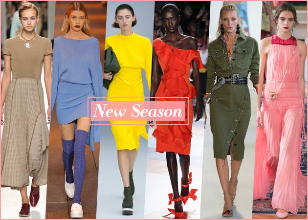 Άνοιξη-Καλοκαίρι 2017: Τα χρώματα που πρέπει να φορέσεις αυτήν τη σεζόν