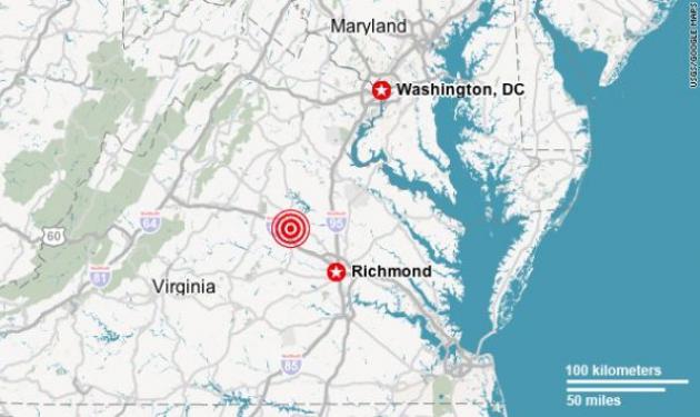 5,9 Ρίχτερ ταρακούνησαν Ουάσινγκτον και Νέα Υόρκη – Εκκενώθηκε το Πεντάγωνο | tlife.gr