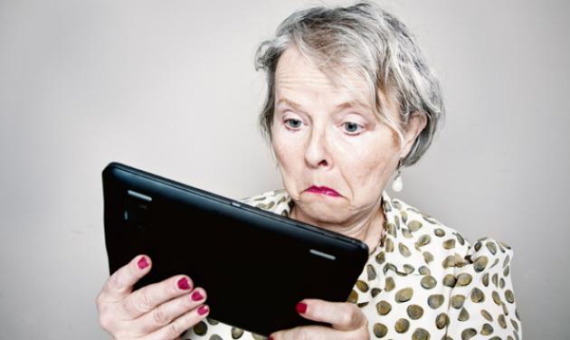 Μαμά πώς σου φαίνεται το νέο σου tablet;