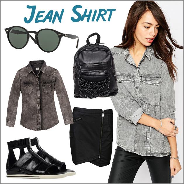 1 | Τζην πουκάμισο