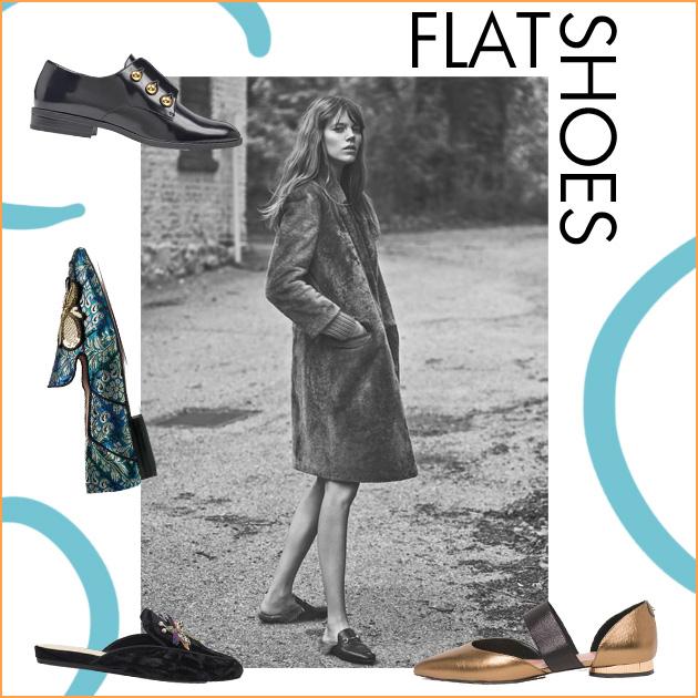 1 | Flat shoes