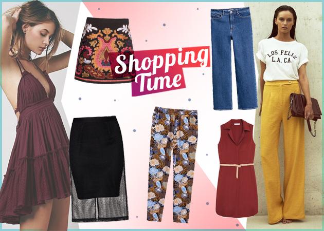 Φορέματα, φούστες, παντελόνια: Τα ωραιότερα της αγοράς στις βιτρίνες του Tlife!