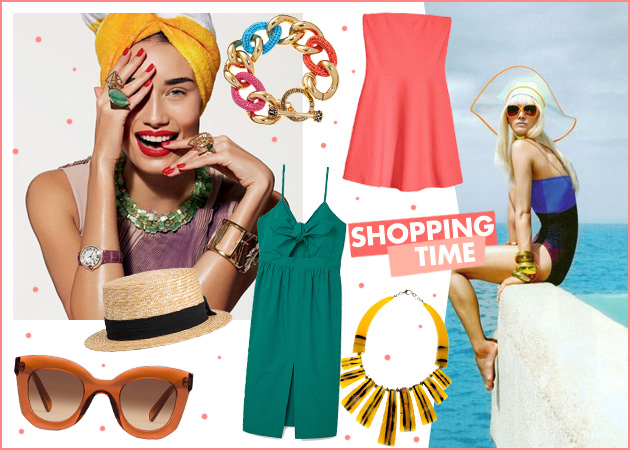 Φορέματα, αξεσουάρ και κοσμήματα: Όλα όσα χρειάζεσαι για τα καλοκαιρινά σου looks!