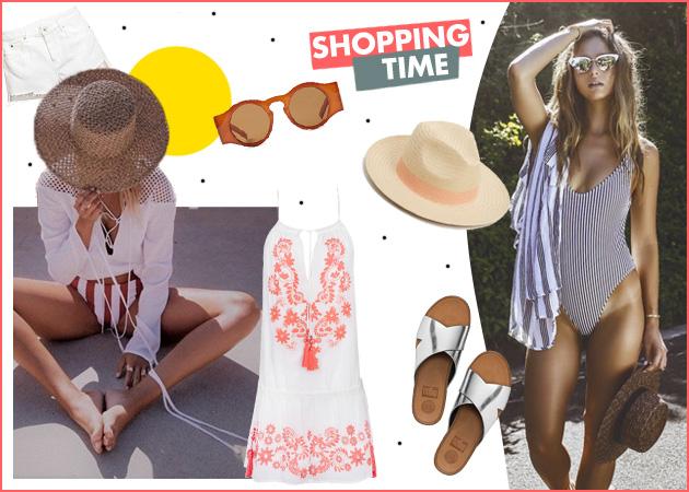 Ώρα για shopping: Τα βασικά ρούχα και αξεσουάρ που θα απογειώσουν το beach look σου | tlife.gr