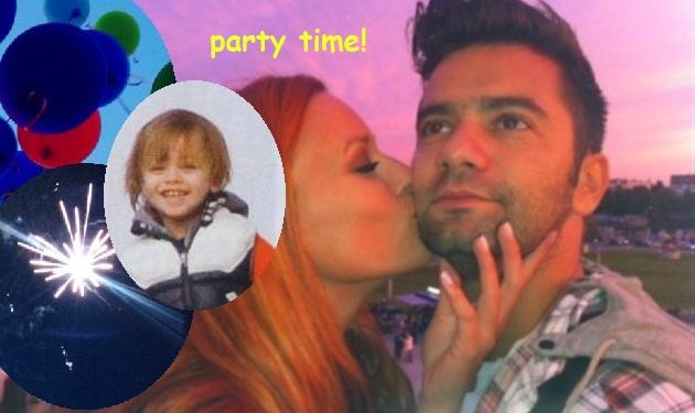 Σ. Χρηστίδου – Θ. Μαραντίνης: Το super πάρτι που ετοίμασαν για τα 4α γενέθλια του γιου τους!
