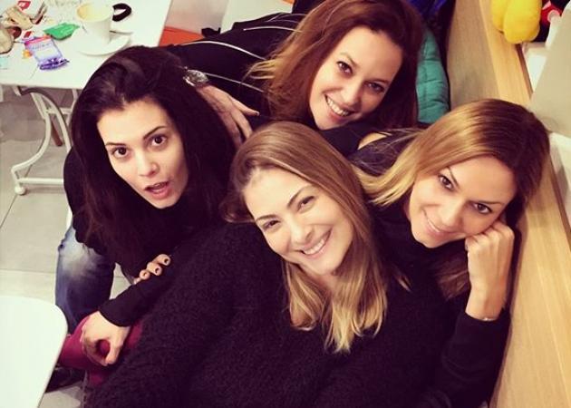 Σίσσυ Χρηστίδου: Τα παιχνίδια στο instagram με τον Θοδωρή και το τραπέζι με τις φίλες της!