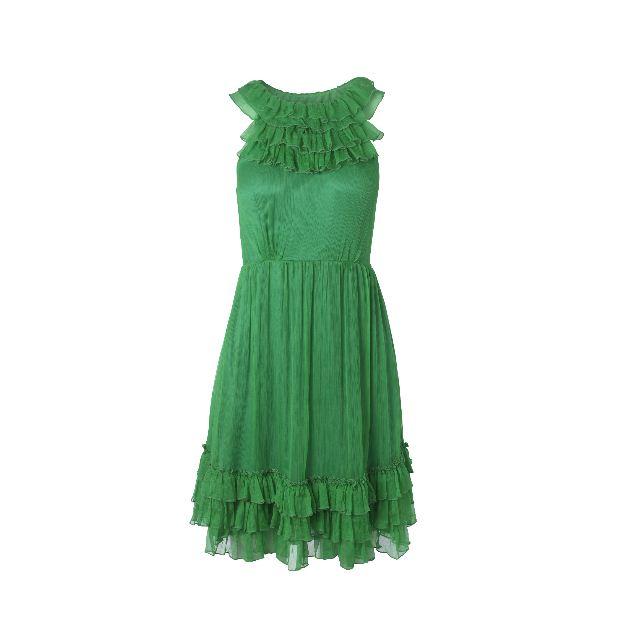 9 | Πράσινο φόρεμα Traffic People
