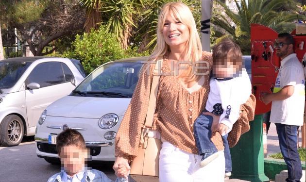 Φαίη Σκορδά: Χαμόγελα ευτυχίας στο παιδικό πάρτι του Γιάννη της! Φωτογραφίες | tlife.gr