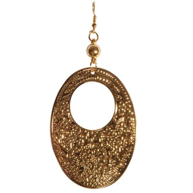 3 | Σκαλιστό σκουλαρίκι Fullah Sugah by Skondras
