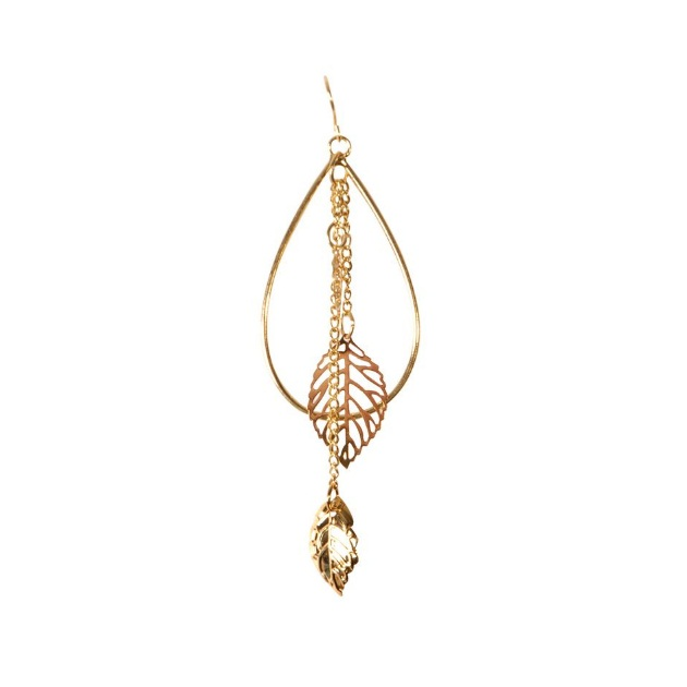 11 | Σκουλαρίκι σε χρυσό χρώμα Fullah Sugah by Skondras