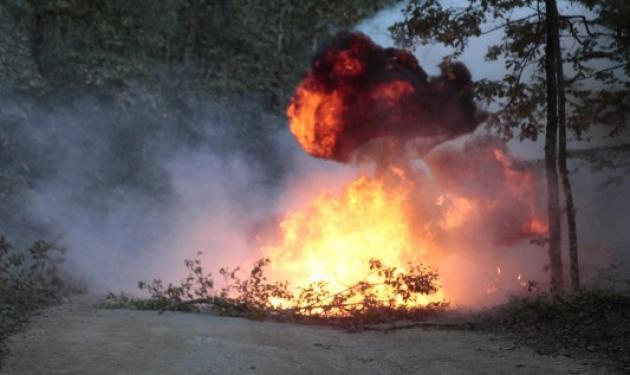 Χαλκιδική: Επίθεση με βόμβες μολότοφ από κουκουλοφόρους σε εργοτάξιο στις Σκουριές | tlife.gr