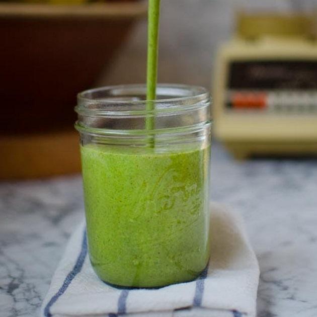 Frozen smoothie με kale