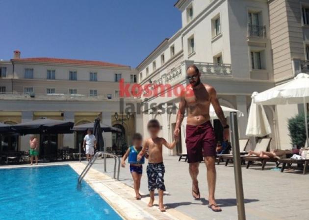 Λάρισα: Οι διακοπές του Βασίλη Σπανούλη – Στιγμές χαλάρωσης μαζί με τα παιδιά του   tlife.gr