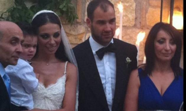 Το TLIFE στον γάμο της Ο. Χοψονίδου και του Β. Σπανούλη!   tlife.gr