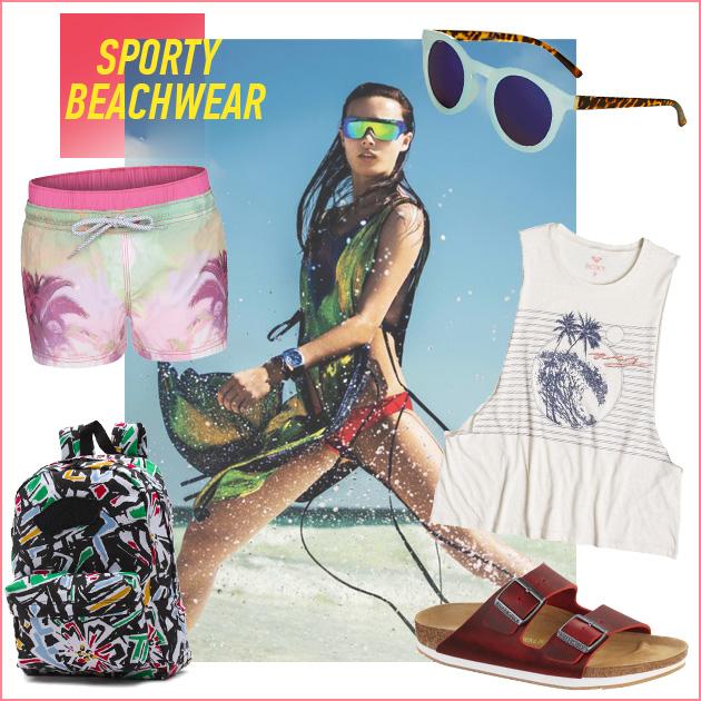 1 | Sporty beachwear