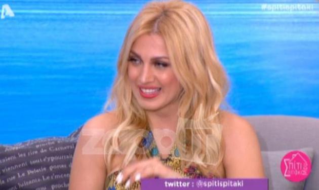 Κωνσταντίνα Σπυροπούλου: Η on air αποκάλυψη για την πρόταση γάμου του Δημήτρη Μακαλιά στην Αντιγόνη Ψυχράμη! | tlife.gr