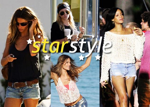 02a3d8a594fe Πώς φοράνε οι celebrities το τζιν σορτσάκι  Πάρε ιδέες για το δικό σου  styling…