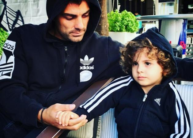 Στέλιος Χανταμπάκης: Το πιο γλυκό δώρο από τον γιο του για την γιορτή του! [vid]