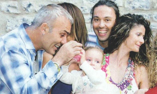 Σ. Ρόκκος: Σε βάφτιση μαζί με την αγαπημένη του Ε. Γκόφα!