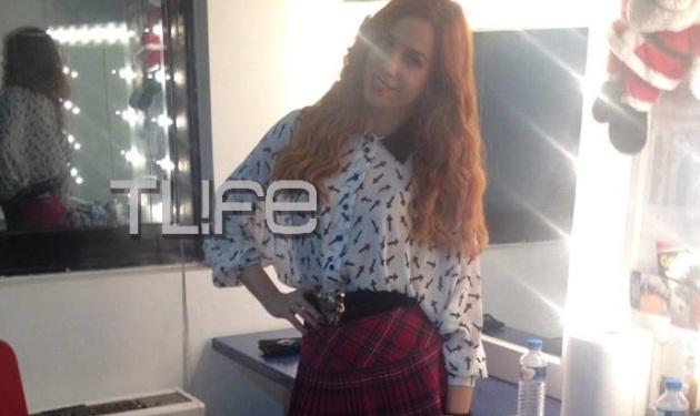 Κατερίνα Στικούδη: Καλεσμένη στην εκπομπή του Γ. Σατσίδη! Backstage φωτογραφίες | tlife.gr