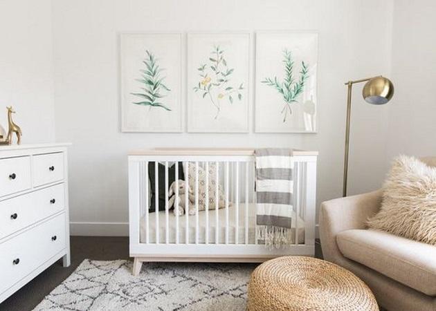 Παιδικό και bebe δωμάτιο: Εξοικονόμησε χώρο όταν η αποθήκευση είναι δύσκολη