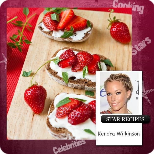 7   Star Recipes: Μπρουσκέτα με φράουλες