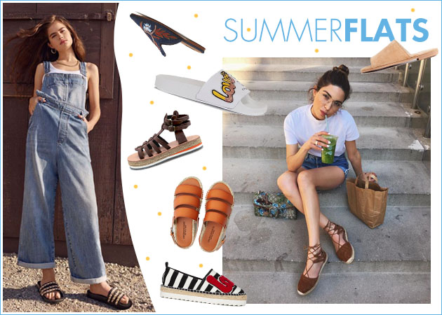 Οδηγός αγοράς: Τα 30 πιο στιλάτα φλατ παπούτσια που θέλουμε να φορέσουμε το φετινό καλοκαίρι