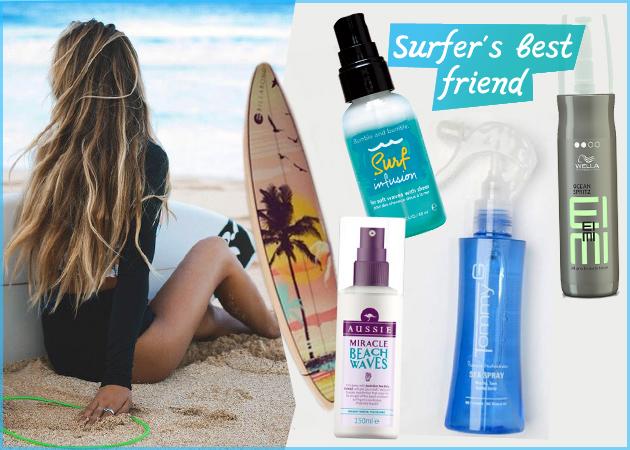 Σαν να έκανες surf! 7 spray αλατόνερου για sexy μαλλιά!