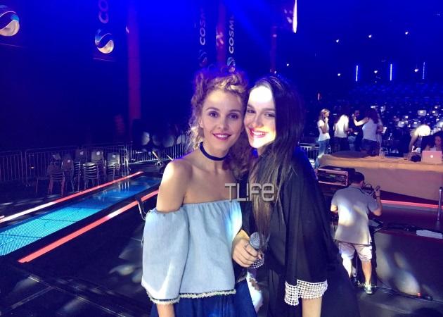 Τάμτα: Οι τελευταίες πρόβες με την Τάνια Μπρεάζου για τον ημιτελικό του X Factor! Φωτογραφίες