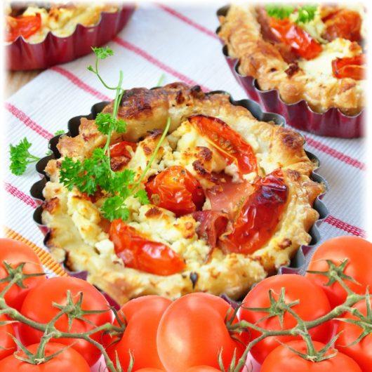 Ταρτάκια ντομάτα | tlife.gr
