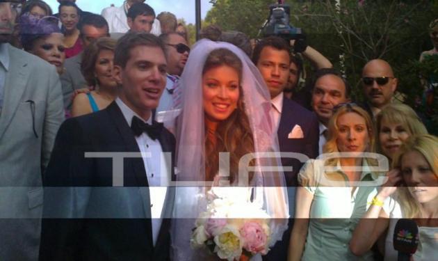 Ο γάμος της Μ. Χρουσαλά! Το TLIFE ήταν εκεί! | tlife.gr