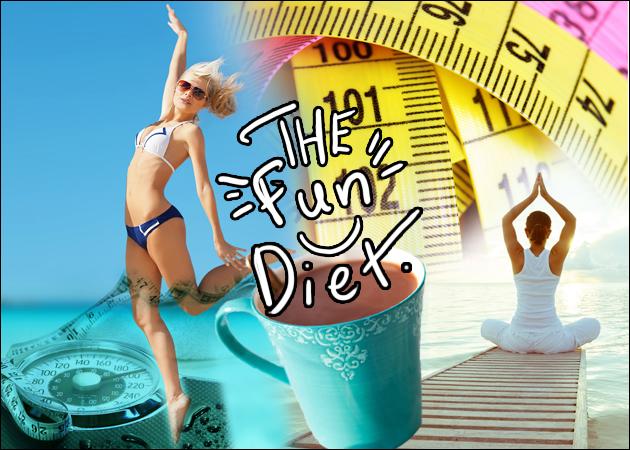 Η πιο διασκεδαστική δίαιτα! Χάσε 4 κιλά με το πιο κεφάτο μενού διατροφής