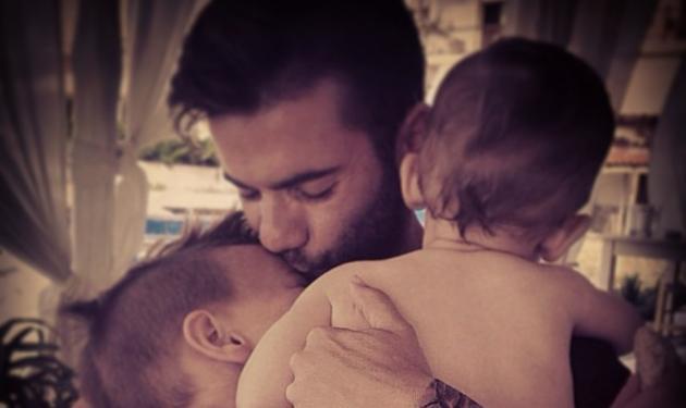 Θοδωρής Μαραντίνης: Η πιο τρυφερή φωτογραφία με το γιο του και  το ευχαριστώ στη Σίσσυ! | tlife.gr