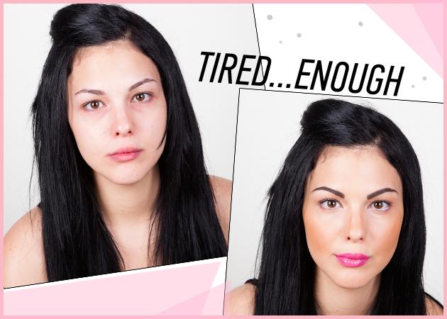 Έχεις μαύρους κύκλους; Δείχνεις κουρασμένη; Ξενύχτησες; Το μακιγιάζ που τα εξαφανίζει όλα! | tlife.gr
