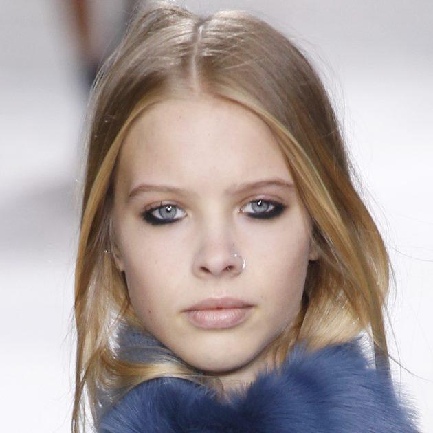 2 | To heavy eyeliner στο κάτω βλέφαρο για το Topshop