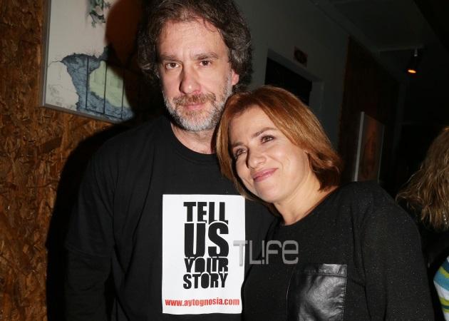 Μαριάνα Τουμασάτου: Στήριξε τον σύζυγό της, Αλέξανδρο Σταύρου στην πρεμιέρα του! | tlife.gr
