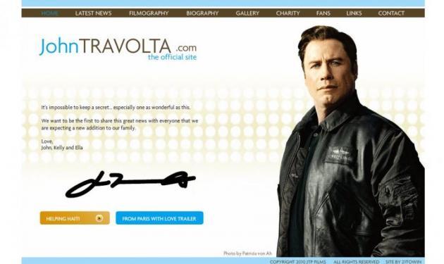 Ο Τραβόλτα ξανά πατέρας, μετά το χαμό του γιού του! | tlife.gr
