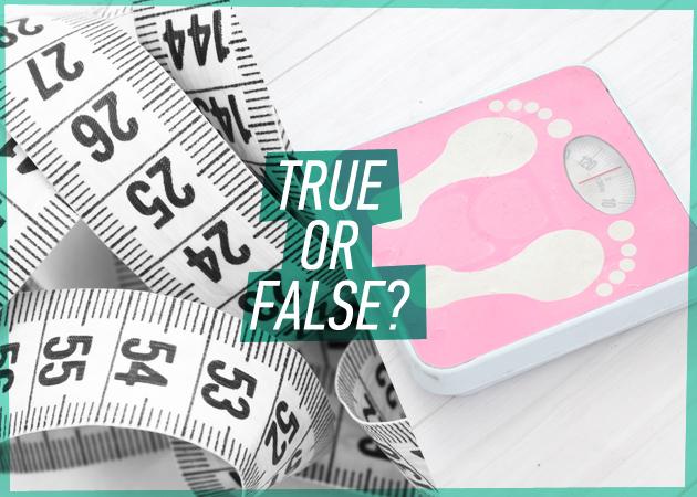 Μύθοι και αλήθειες γύρω από το αδυνάτισμα! Τελικά τι πρέπει να κάνεις για να χάσεις κιλά;