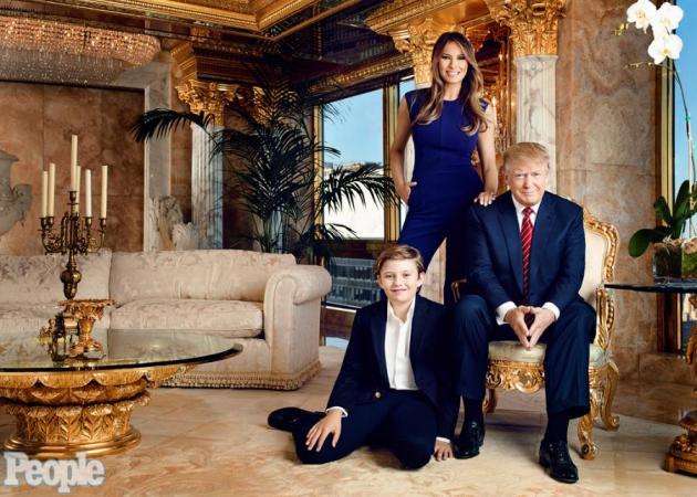 Donald Trump: Ζει με την οικογένειά του σε αυτό το… χρυσό παλάτι! Φωτογραφίες