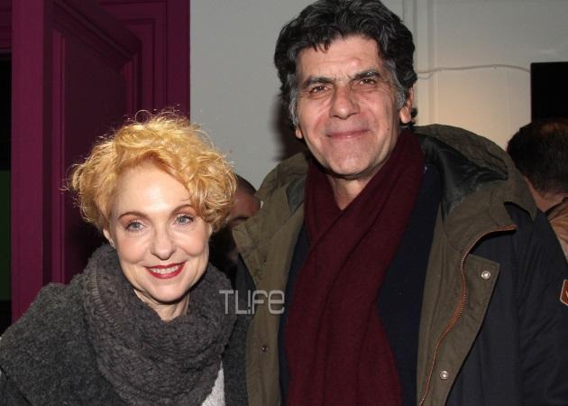 Γιάννης Μπέζος – Ναταλία Τσαλίκη: Βραδινή έξοδος στο θέατρο!
