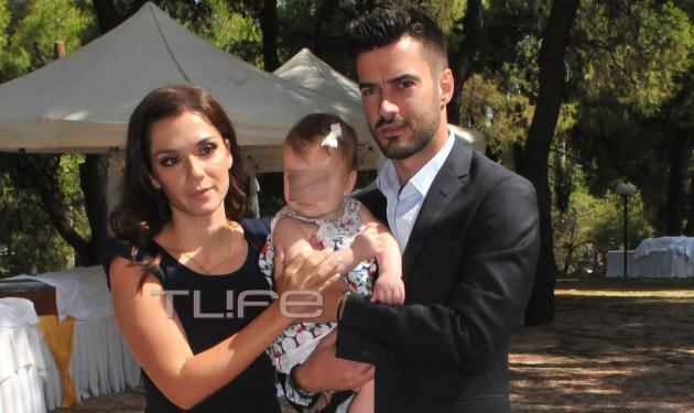 Γιάννης Τσιμιτσέλης – Βάσω Λασκαράκη: Βάφτισαν την κόρη τους! Φωτογραφίες | tlife.gr