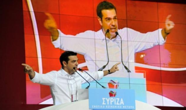 Πρόεδρος του ενιαίου ΣΥΡΙΖΑ με 74,07% ο Αλέξης Τσίπρας