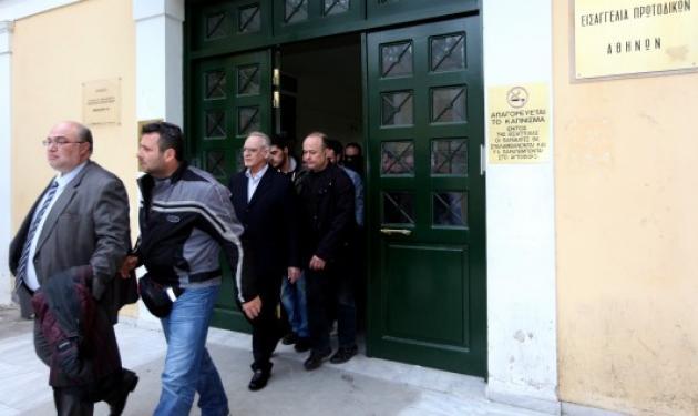 Άκ. Τσοχατζόπουλος από τα κρατητήρια : Είμαι πολιτικός κρατούμενος!