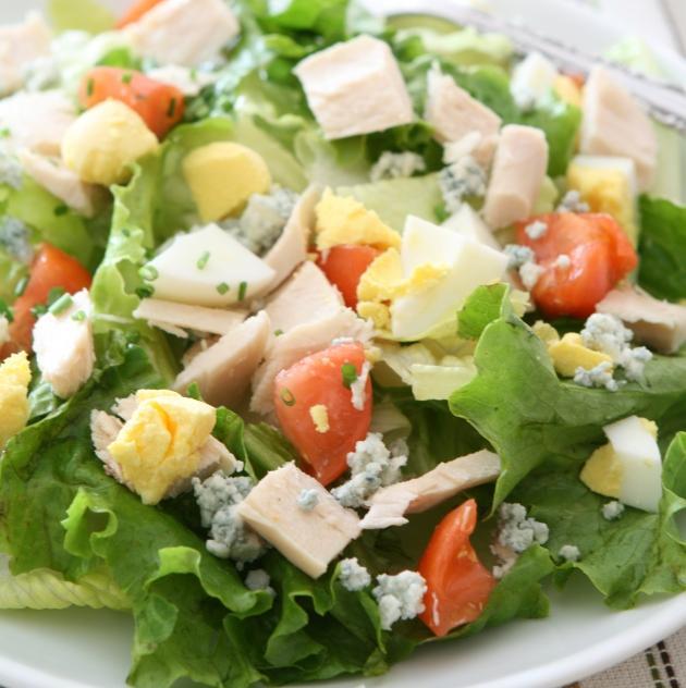 Σαλάτα αβοκάντο με γαλοπούλα
