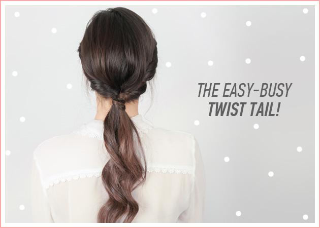 Twist tail! Το χτένισμα για πολυάσχολα κορίτσια που γίνεται σε 5 λεπτά! | tlife.gr